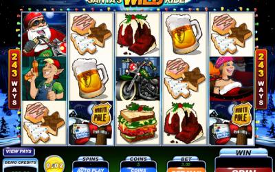 Book Your Ride on Santa's Wild Ride Slot